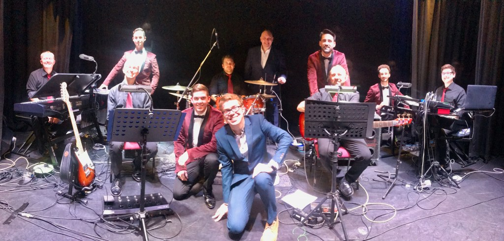 Fabulous first Live Band Gig for The All Seasons